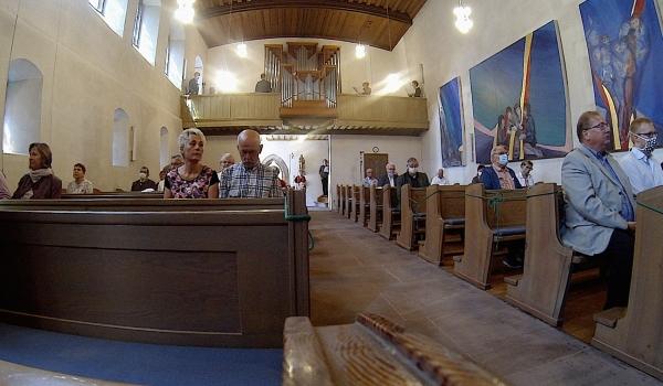 Inwijding van het orgel op 12 juni 2020